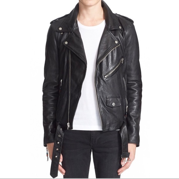 e5124a805f BLK DNM Other - BLK DNM Leather Moto Jacket  5